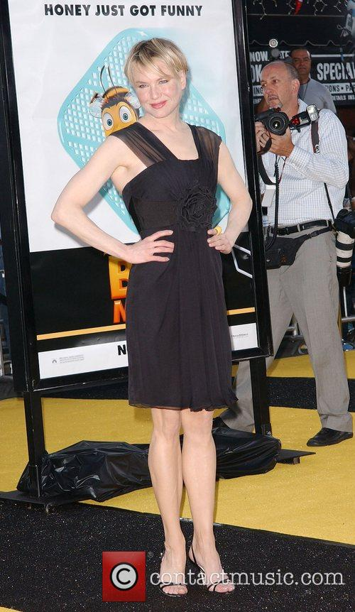 Renee Zellweger Los Angeles film premiere of 'Bee...