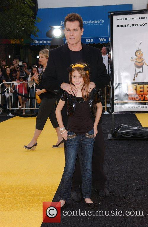 Ray Liotta, Karsen Liotta Los Angeles film premiere...