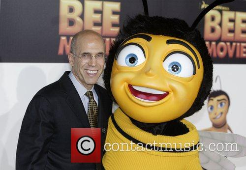 Jeffrey Katzenberg, Dream Works CEO Bee Movie premiere...