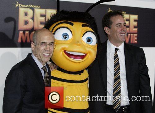 Jeffrey Katzenberg, Jerry Seinfeld and Seinfeld 4