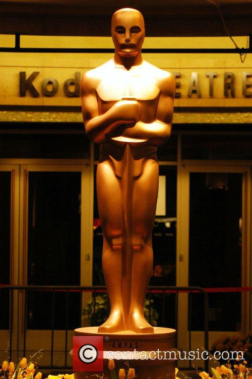 Atmosphere Kodak Theatre prepares for 80th Academy Awards...