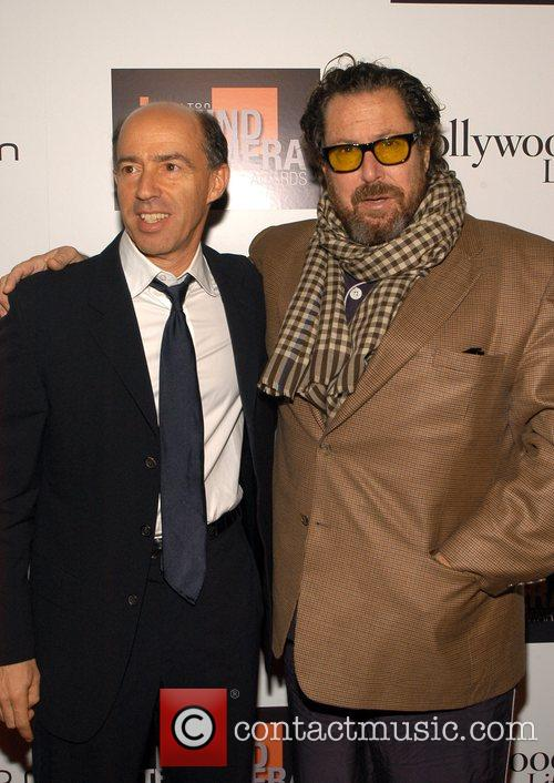 Jon Kilik and Julian Schnabel 1