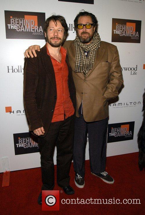 Mathieu Amalric and Julian Schnabel Hamilton Behind the...