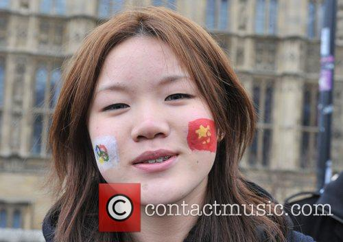 Tibet protest riots break out during the Beijing...