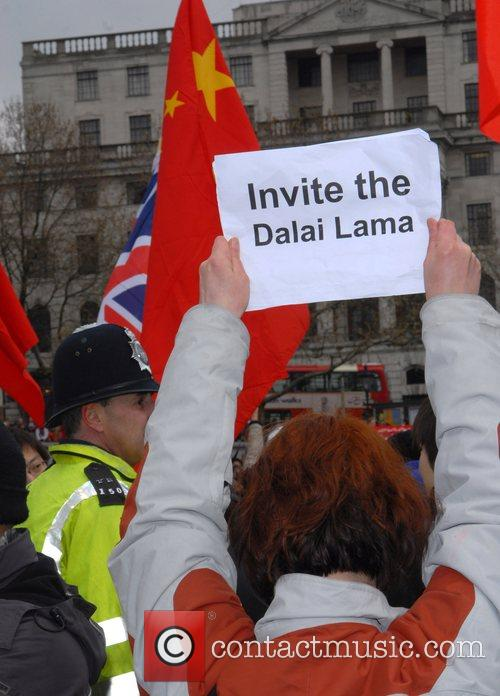Protests during the Beijing 2008 Olympic Torch Relay...
