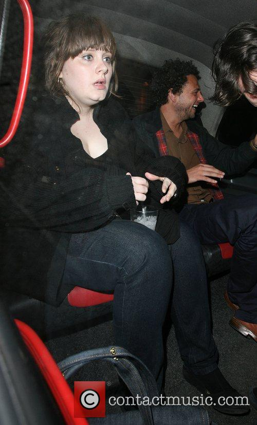 Adele and Jade Jagger 3