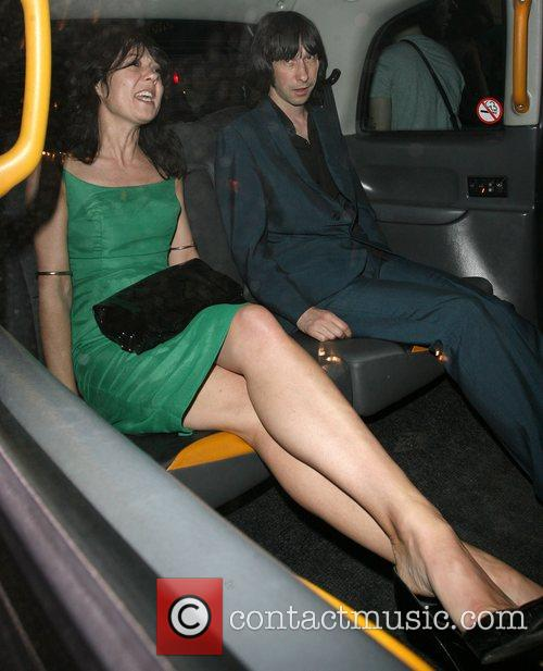 Bobby Gillespie and Jade Jagger 2