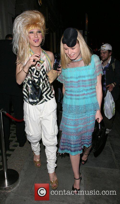 Roisin Murphy and Jodie Harsh Belvedere Vodka Jagger...