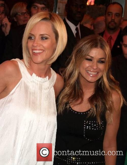 Jenny McCarthy and Carmen Electra  opening celebration...