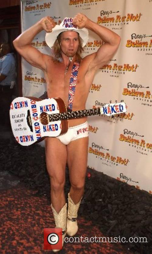 The Naked Cowboy opening celebration of Ripley's 'Believe...