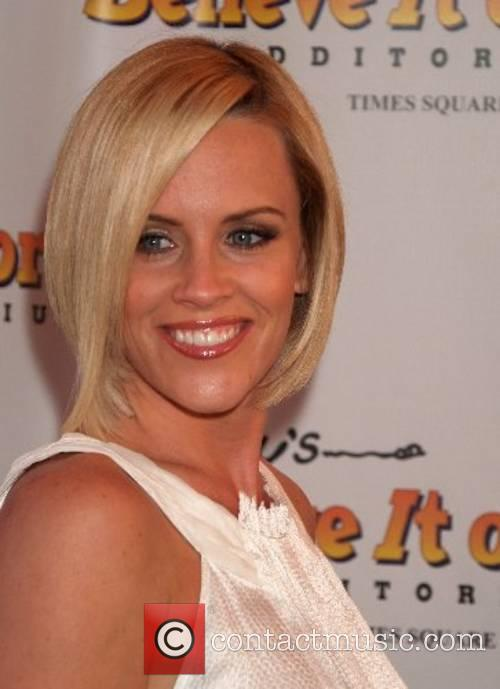 Jenny McCarthy  opening celebration of Ripley's 'Believe...