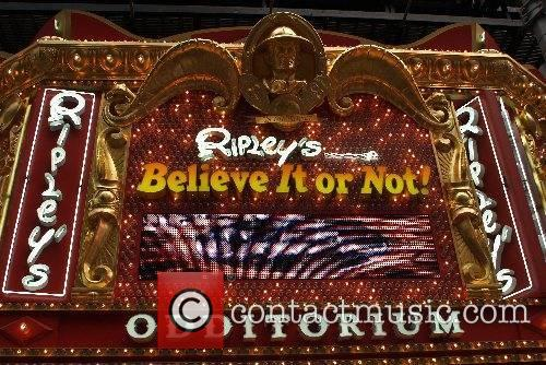 Opening celebration of Ripley's 'Believe It Or Not'...