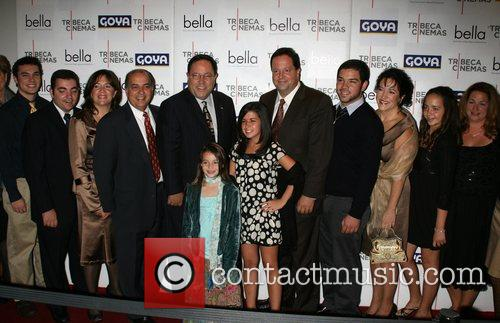 Cast New York premiere of 'bella' at the...