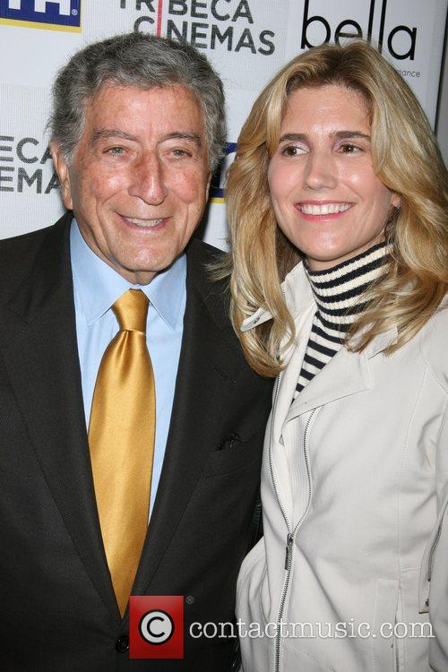 Tony Bennett and Susan Crow Bennett New York...