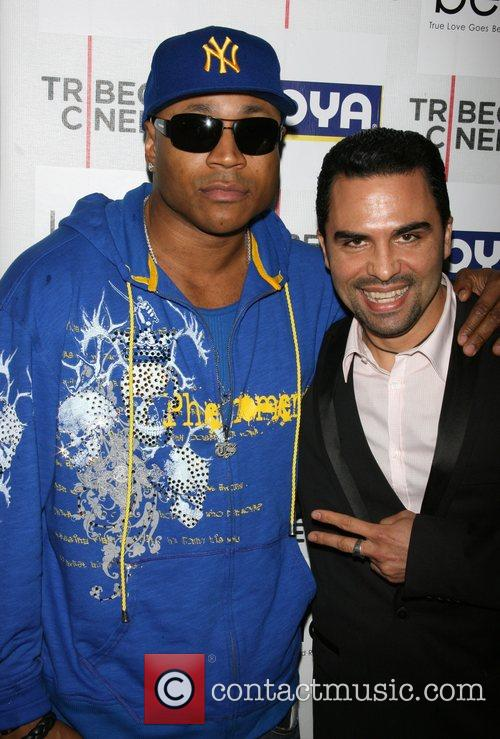 LL Cool J and Manny Perez New York...
