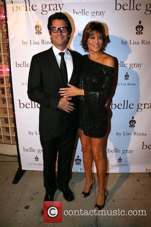 Harry Hamlin and Lisa Rinna,  Actress and...