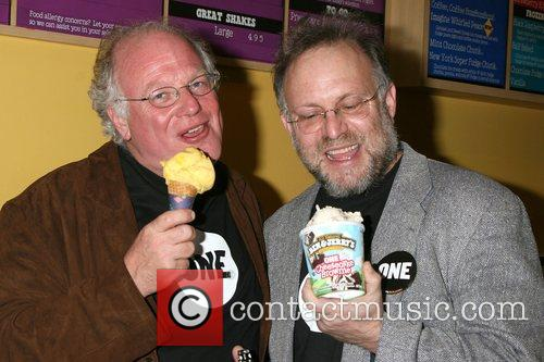 Ben Cohen & Jerry Greenfield of Ben &...