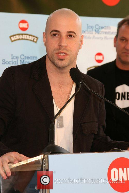 Chris Daughtry Ben & Jerry's Press Conference Supporting...