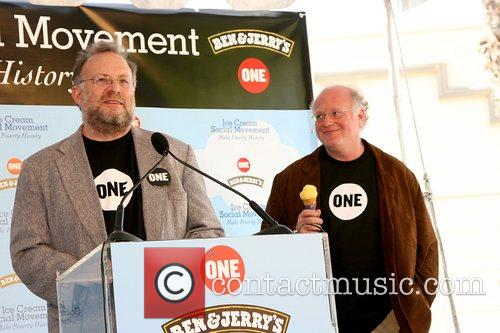 Jerry Greenfield & Ben Cohen of Ben &...