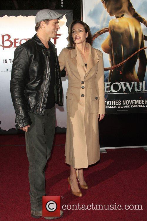 Brad Pitt and Angelina Jolie 6