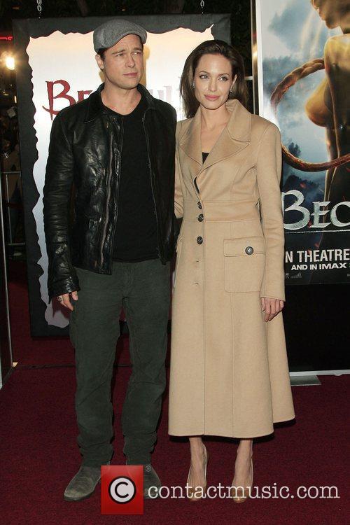 Brad Pitt and Angelina Jolie 2