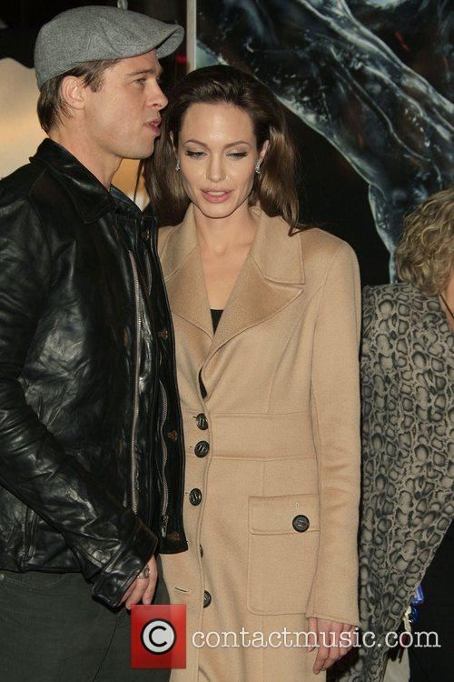 Brad Pitt and Angelina Jolie 8