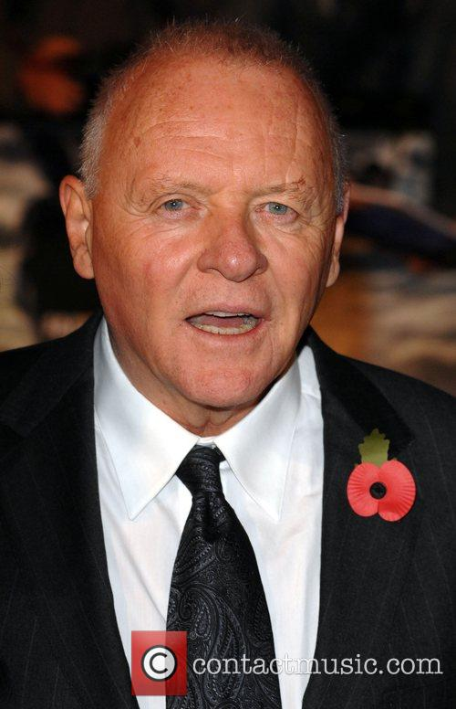 Anthony Hopkins UK premiere of Beowulf held at...