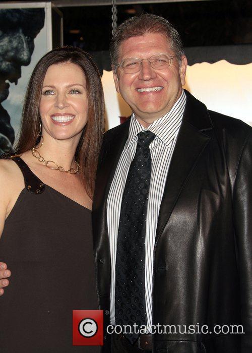 Leslie Harter Zemeckis and Robert Zemeckis