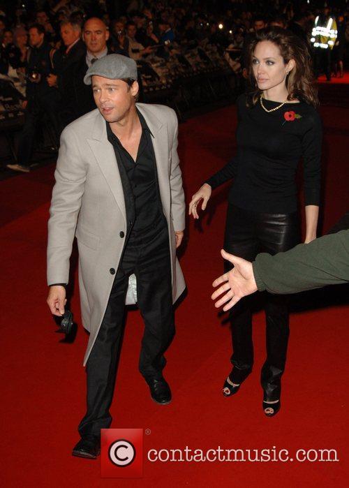 Brad Pitt and Angelina Jolie 10
