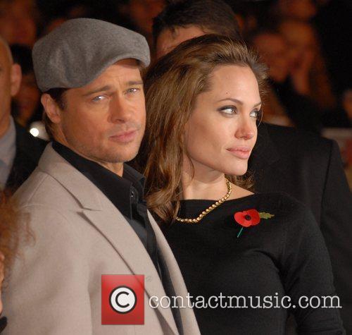 Brad Pitt and Angelina Jolie 13
