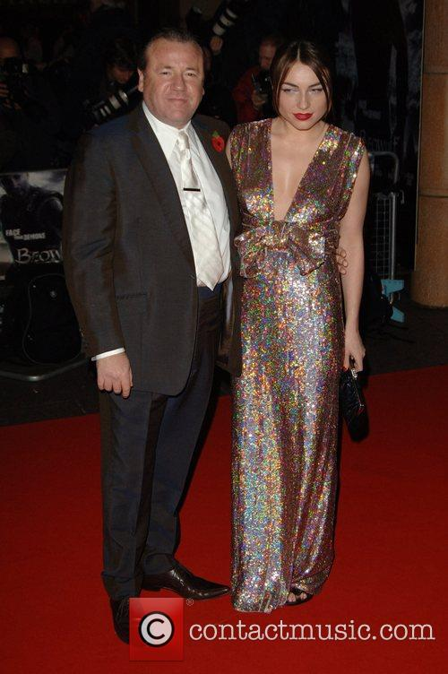Ray Winestone and guest UK premiere of 'Beowulf'...