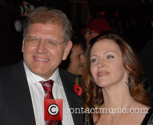 Robert Zemeckis and his wife Leslie Harter Zemeckis...