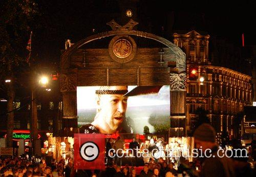 Atmosphere UK premiere of 'Beowulf' held at the...