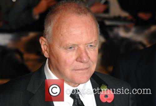Sir Anthony Hopkins UK premiere of 'Beowulf' held...