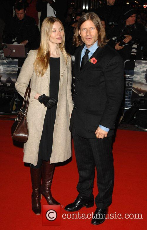 Guest and Crispin Glover UK premiere of 'Beowulf'...