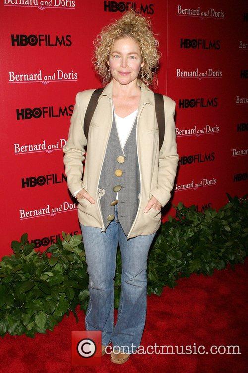 Amy Irving Screening of 'Bernard and Doris' at...