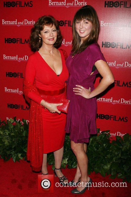 Susan Sarandon, Eva Amurri Screening of 'Bernard and...
