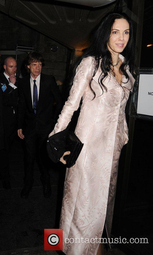 Mick Jagger and L'Wren Scott The Feast of...