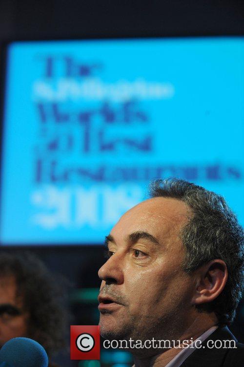 Ferran Adria head chef of Spanish restuarant 'El...