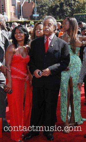 Al Sharpton B.E.T.Awards 2007 held at The Shrine...