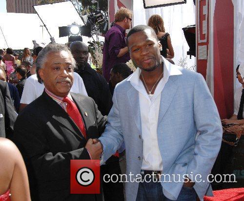 Al Sharpton and 50 cent B.E.T.Awards 2007 held...