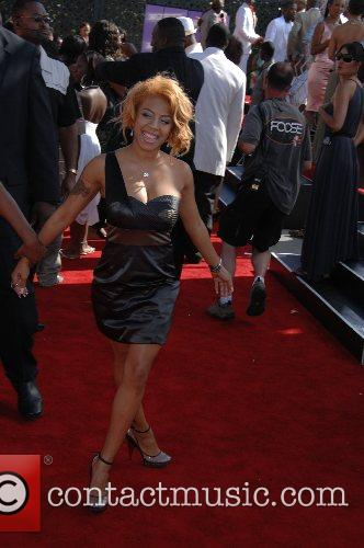 Keyshia Cole B.E.T.Awards 2007 held at The Shrine...