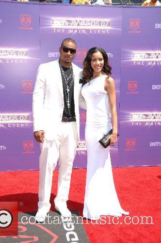 Larry Johnson & Julissa Bermundez B.E.T.Awards 2007 held...
