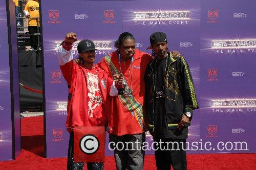 Bone & Thugs B.E.T.Awards 2007 held at The...