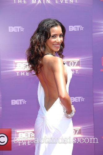 Julissa Bermundez B.E.T.Awards 2007 held at The Shrine...