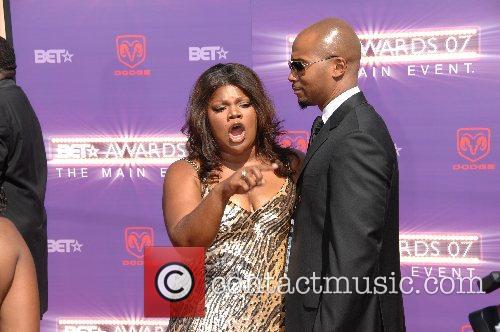 Monique B.E.T.Awards 2007 held at The Shrine -...
