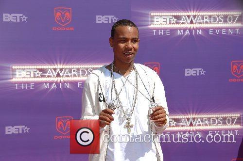 Yung Berg B.E.T.Awards 2007 held at The Shrine...