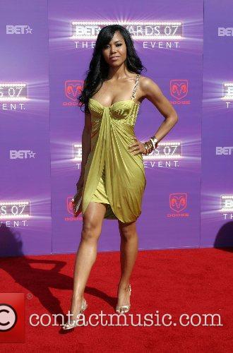 Amerie B.E.T.Awards 2007 held at The Shrine -...