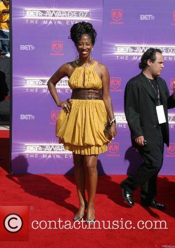 Shondrella Avery B.E.T.Awards 2007 held at The Shrine...