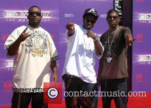 Bone, Thugs, and Harmony B.E.T.Awards 2007 held at...